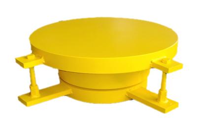 供应竖向压力500KN抗震支座(成品)昊通制造