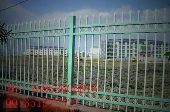 专业生产大丰厂区栅栏、大丰锌钢喷塑栅栏价格