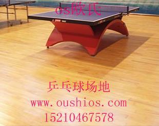 供应塑胶运动地板|乒乓球场地