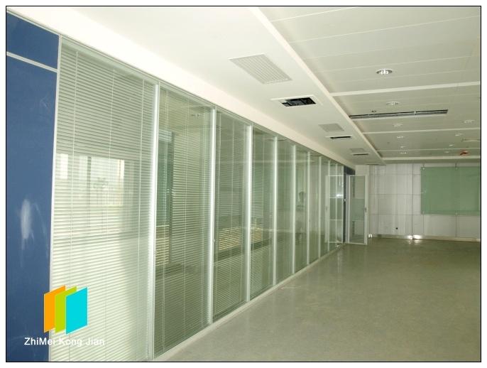广州越秀高隔断墙 玻璃屏风厂家供应