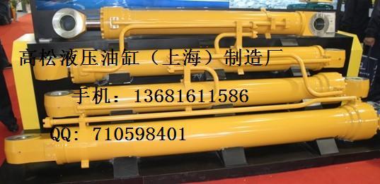 斗山挖掘机液压油缸/活塞杆/缸筒图片