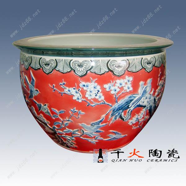 供应青花瓷缸,仿古青花瓷缸