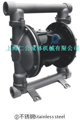 供应气动不锈钢隔膜泵RG25