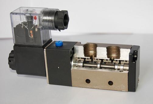 二位五通硬密封电磁阀图片