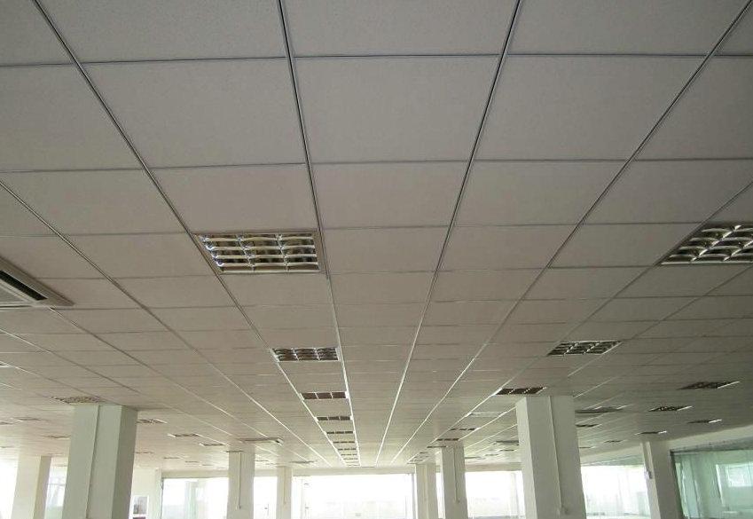 供应苏州吊顶矿棉板吊顶石膏板吊顶 苏州国栋建筑装饰工程高清图片