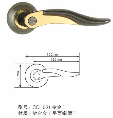 铝产品平开门锁吊门锁锁具-【效果图,门锁图,型cad做怎么付款图片
