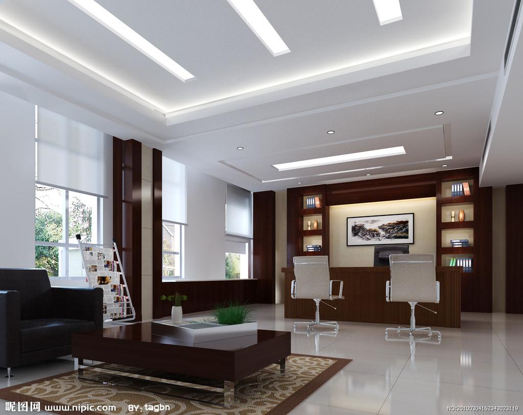 天花板吊顶 石膏板吊顶 矿棉板 吊顶 效果图 , 高清图片
