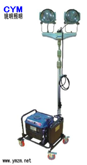 M-SFW6120便携式升降移动照明车