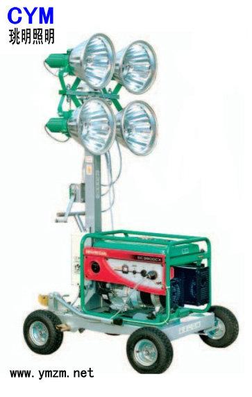 可移动照明车便携式移动照明灯组