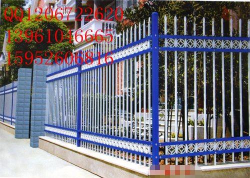 南京市热镀锌围墙护栏厂、南京市围墙护栏价格、锌钢浸塑围墙护栏