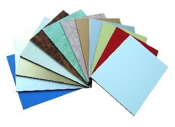 供应上海铝塑板装饰材料 背景墙装饰用板材 拼图压纹