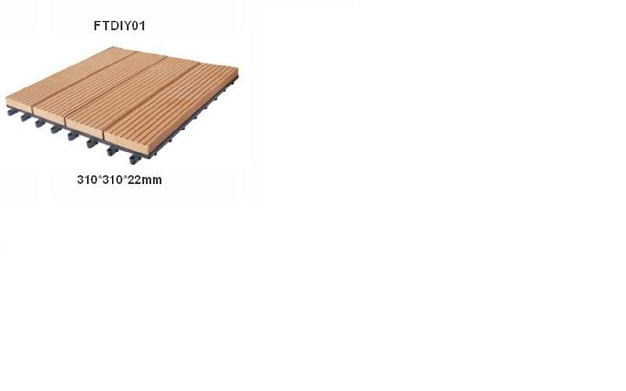 diy木塑地板-【效果图,产品图,型号图,工程图】-中国