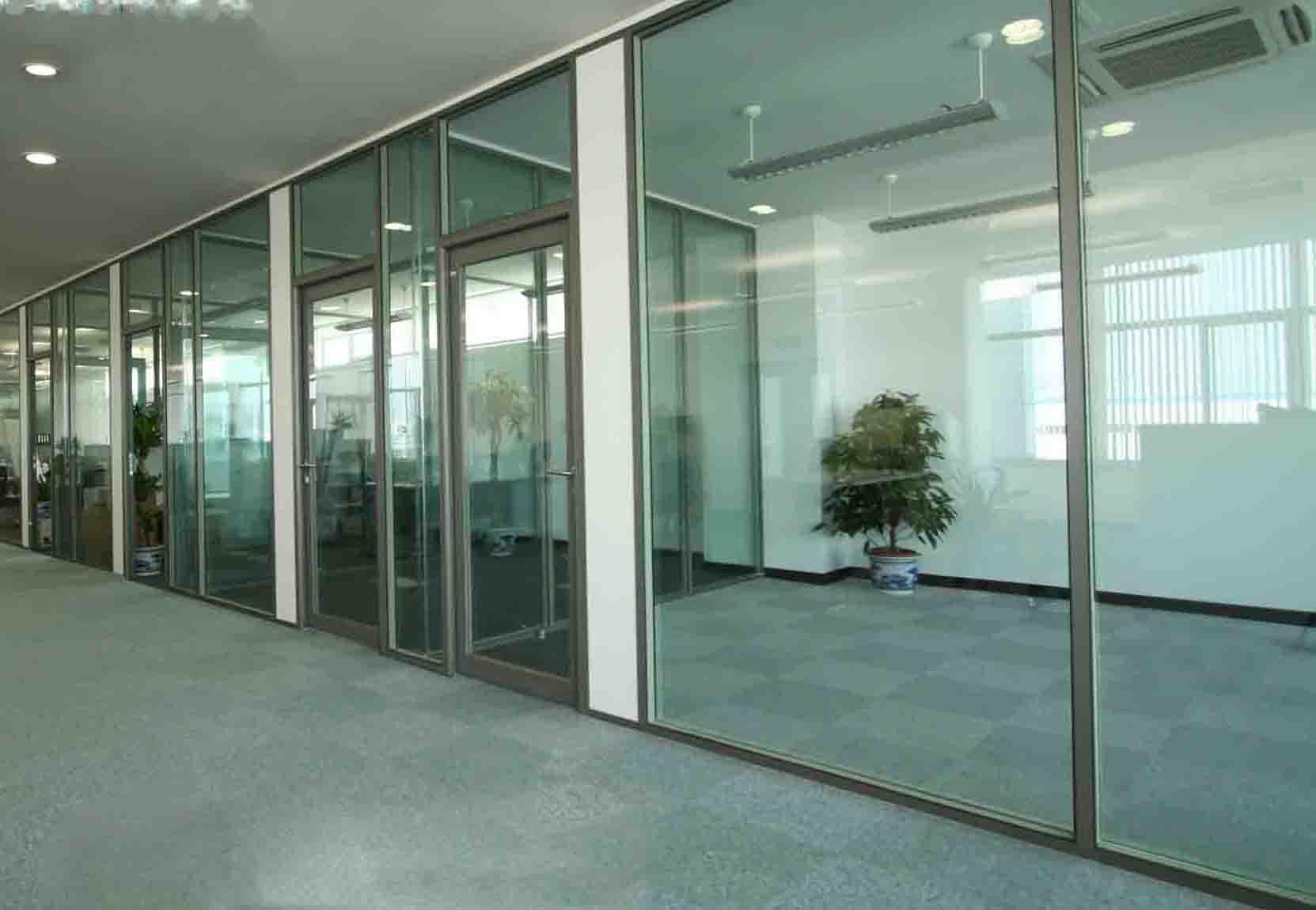 石家庄办公室不锈钢玻璃隔断-【效果图,产品图,型号图