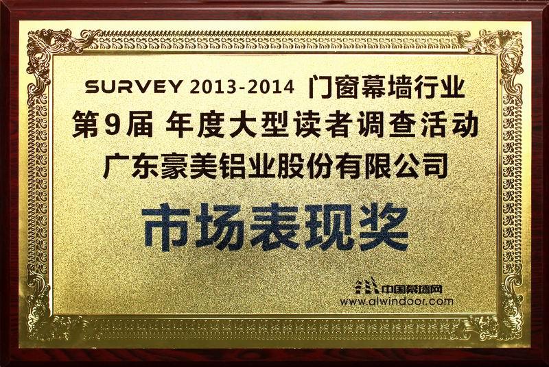 市场表现奖(2014)