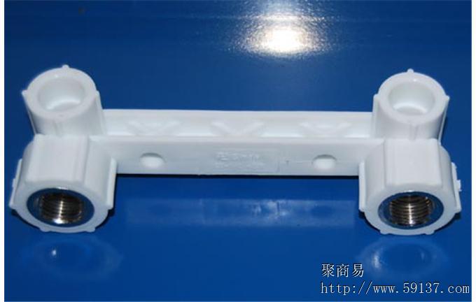 PPR管件连体双内丝弯头L20-1/2F新型