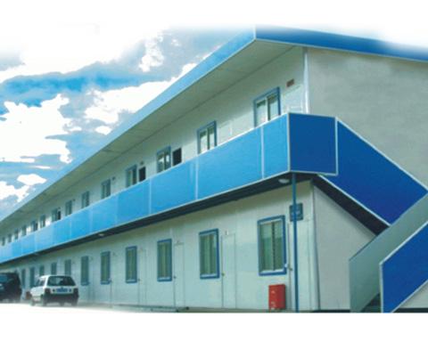 营: 科达公司主要产品包括:活动板房,彩钢房屋,钢筋棚,轻钢结构
