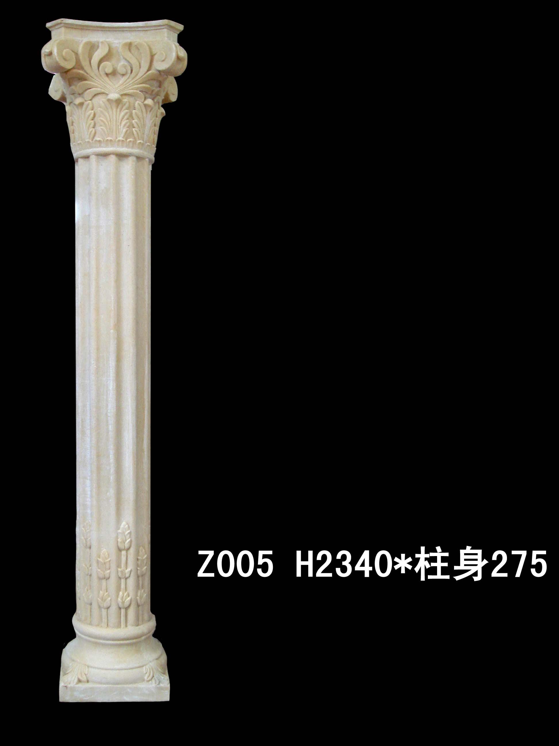 深圳厂沙岩 沙岩罗马柱 效果图,产品图,型号高清图片