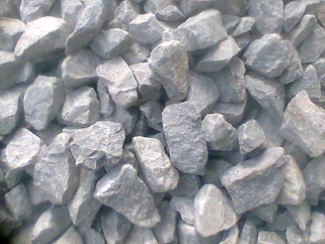 10-70mm石灰石石块