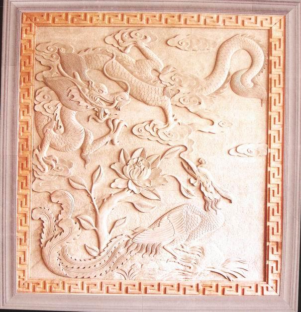 阜阳grc|grc欧式构件浮雕画|游龙惊凤图片