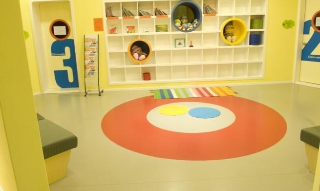 幼儿园室内地胶颜色搭配,幼儿园室内地板选什么颜色好