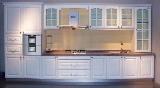 橱柜吸塑橱柜整体厨房石英石台面-【效果图