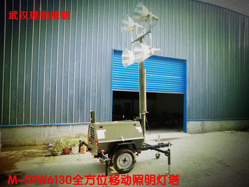 湖北首家生产移动照明车 手推式移动照明灯