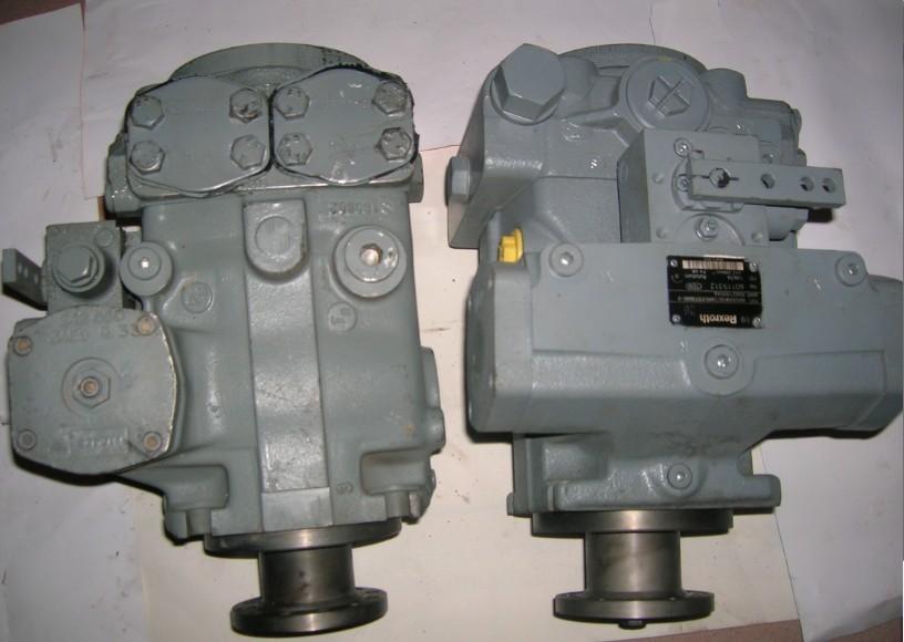 力士乐a4vtg90液压泵aa2fm90液压马达图片