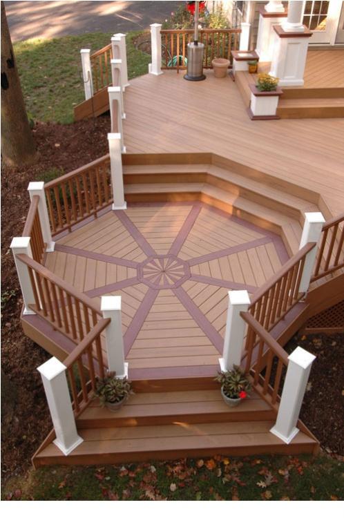 木塑地板工程效果图高清图片