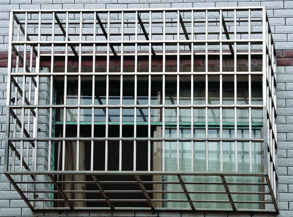 厂家供应不锈钢防护窗装饰管