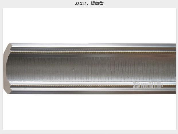 8cm阴角线ps顶角线a8213银斑纹发泡阴角线 效果图 高清图片