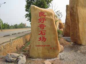广东省英德市望埠镇良好园林奇石场