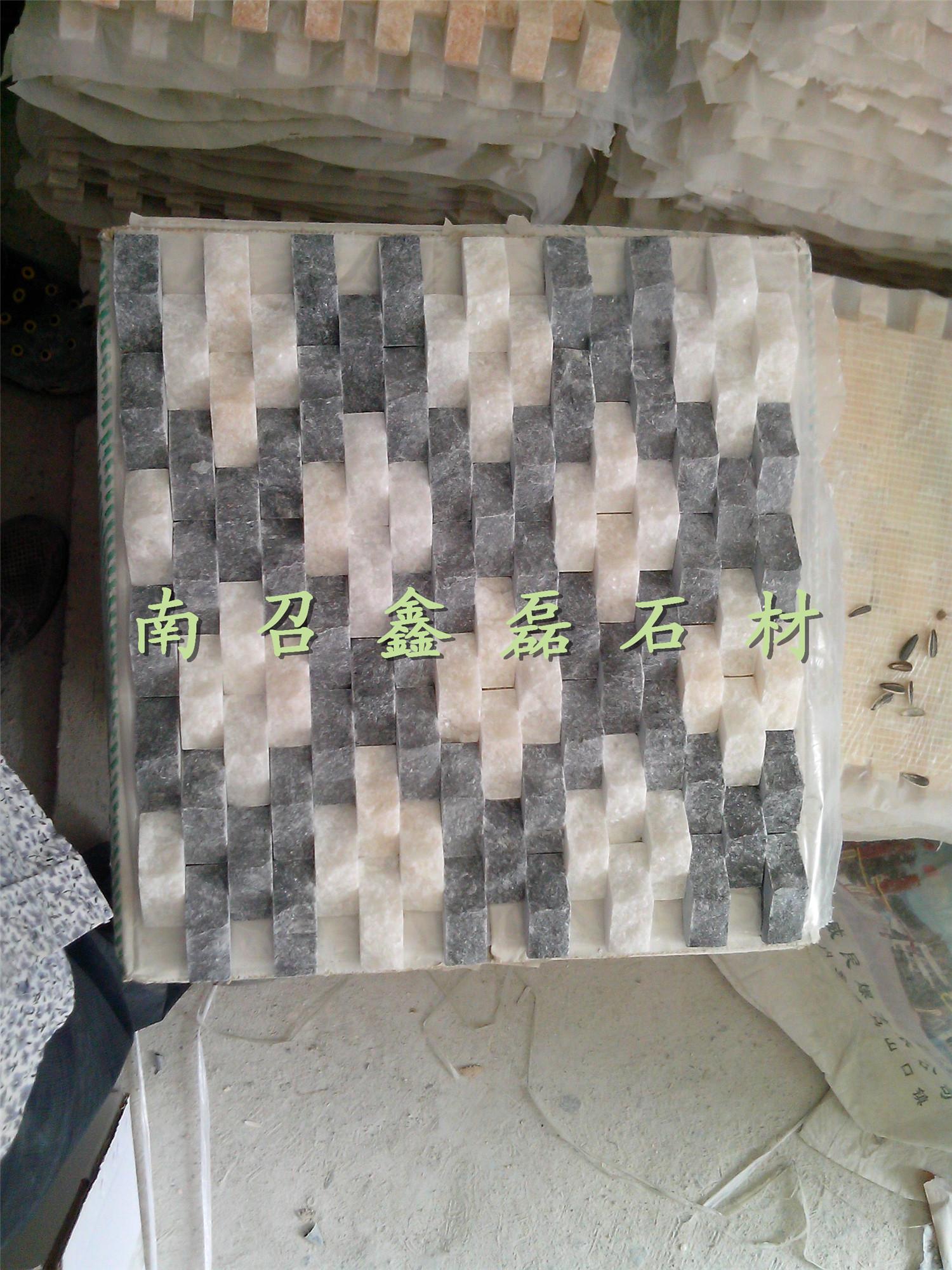 天然大理石马赛克影视墙文化石效果贴图