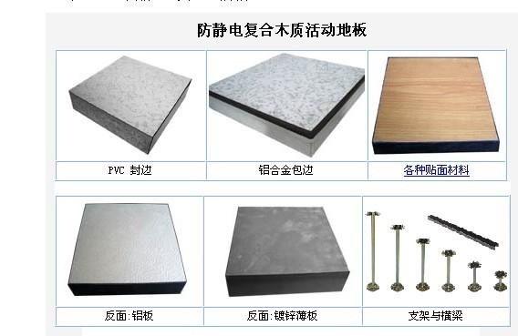 供应上海【宜宽牌】金属木基防静电地板