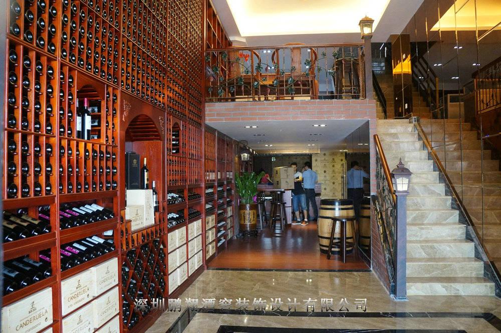 红酒庄设计 葡萄酒会所装修