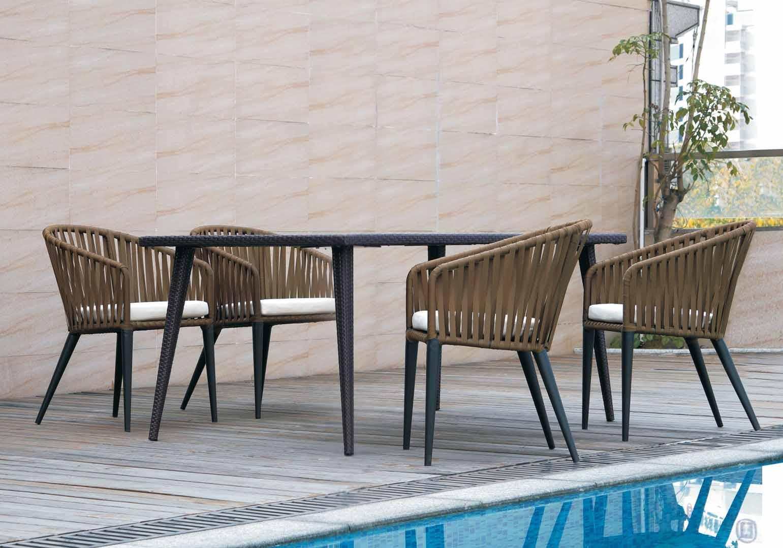 康福特户外休闲桌椅咖啡厅家具图片