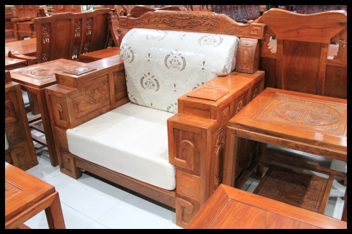 横店红木家具厂家大吉祥沙发1 1 3款式图片