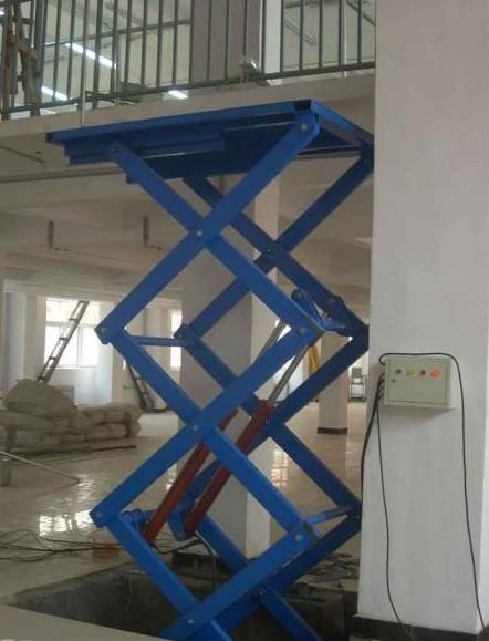 公司简介:济南鑫泰液压机械有限公司专业生产升降机,升降平台,登车桥图片