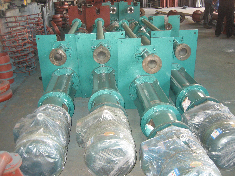 液下渣浆泵; 水力活塞泵结构图-3; 产品展示;
