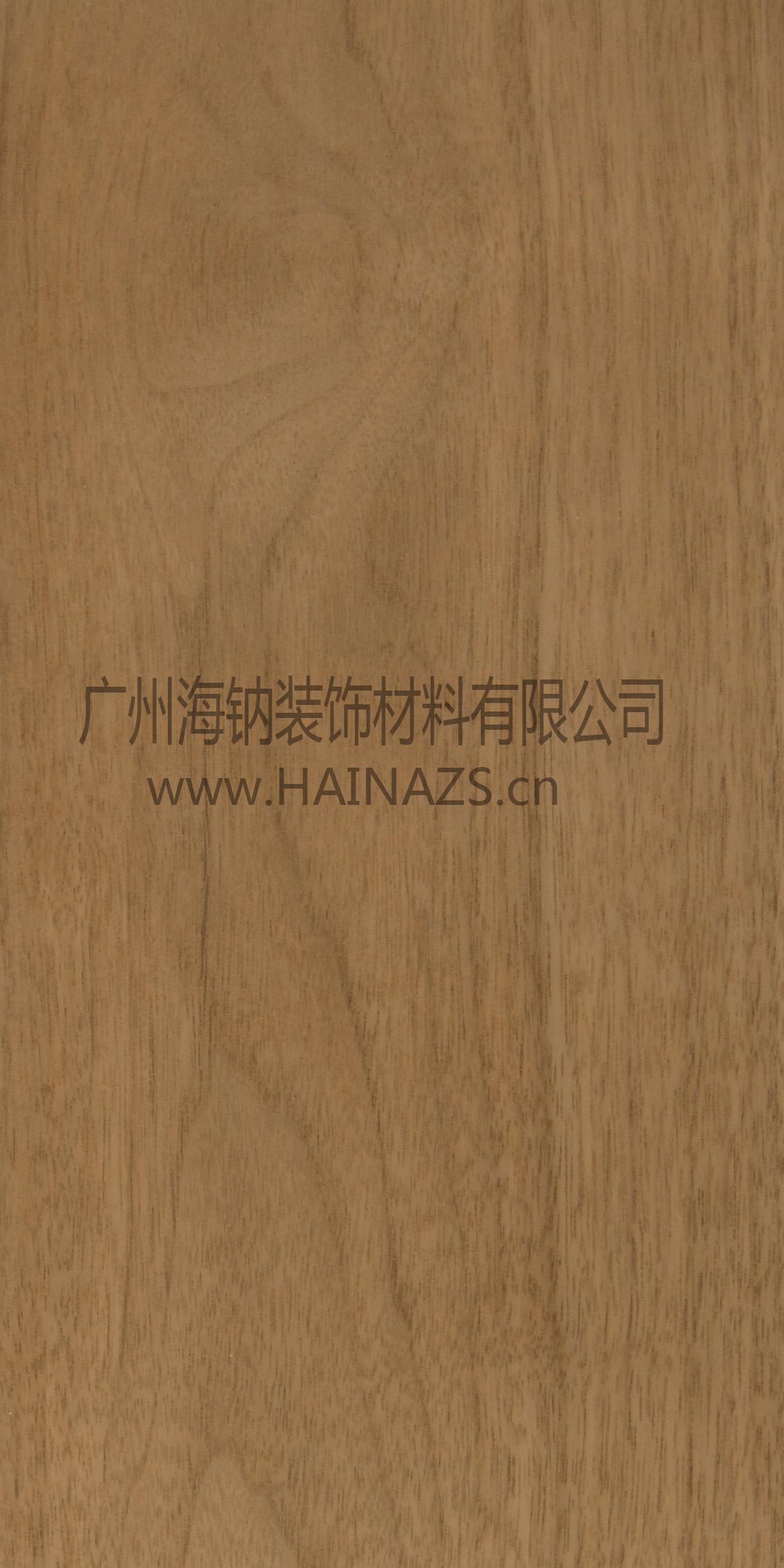 供应黑胡桃防火木饰面装饰护墙板hn-005