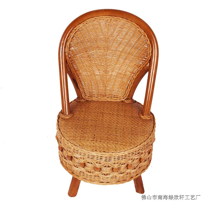 供应云南藤家具厂价直销中式休闲椅组合9012
