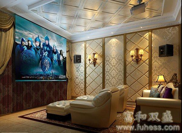 邯郸家庭影院设计装修大金风机流新双向图片