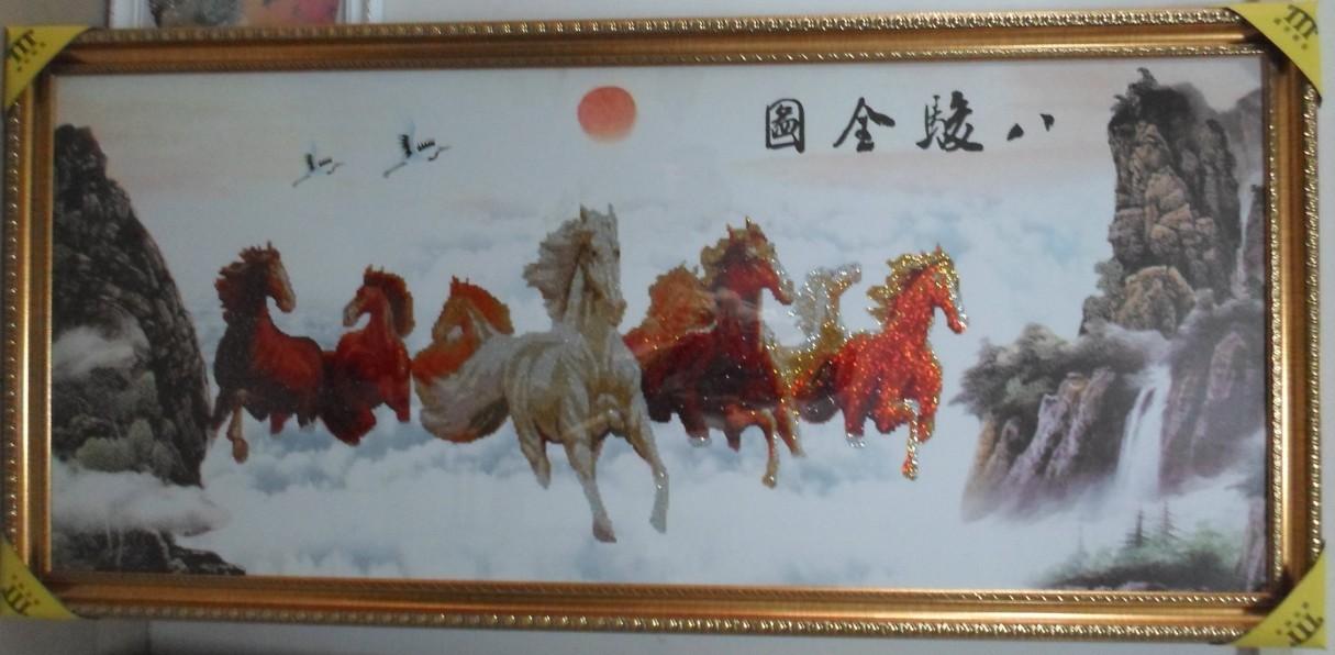 十字绣动物狮子图纸图案
