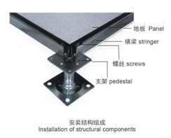 供应上海优质防静电活动地板 高架地板