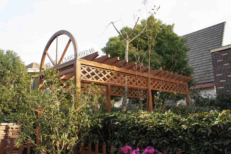 防腐廊架|花园景观廊架|庭院廊架