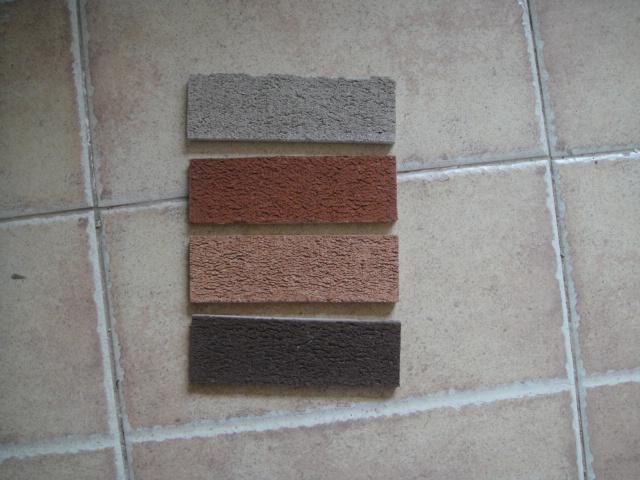 廠家直銷外墻磚陶土磚劈開磚機制磚手工磚