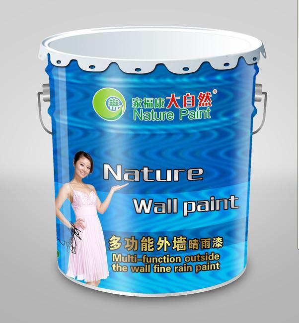 十大品牌优质建筑涂料大自然净味多功能墙面漆招商