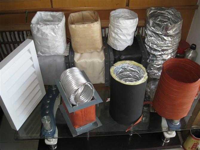 硅纤不燃复合保温软风管