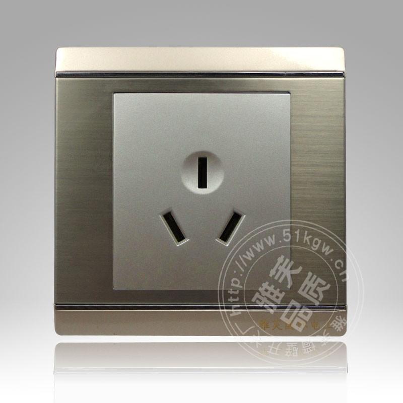 供应86暗装墙壁开关插座 三孔16A空调插座