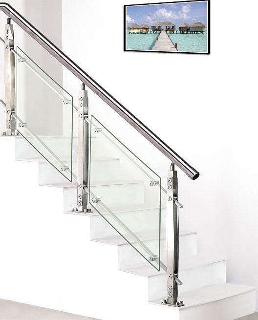 不锈钢扶手图片,楼梯扶手 / 玻璃楼梯扶手图片
