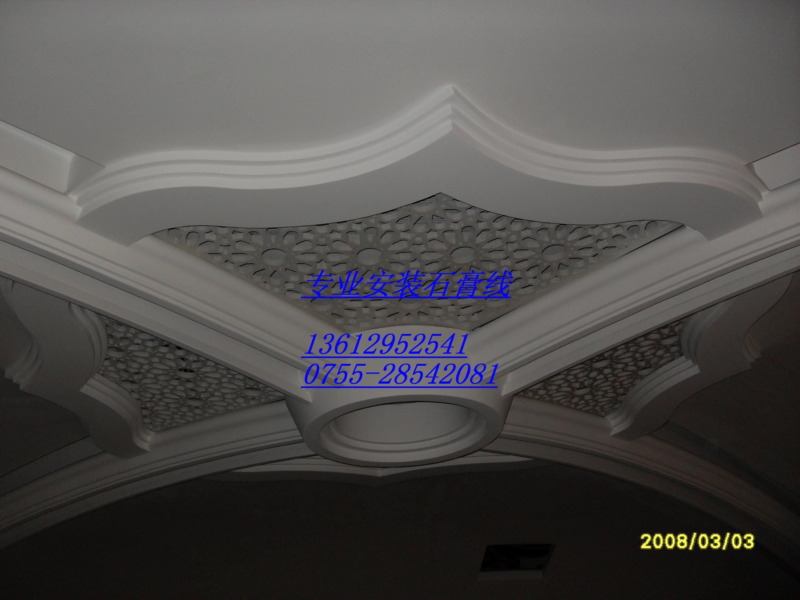 看图案花纹深浅看表面光洁度展开石膏线石膏线选购看价格高广东|广州
